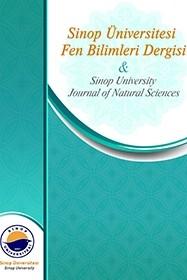 Sinop University Journal of Natural Sciences